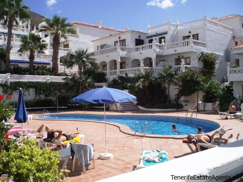 1 Bed Apartment For Sale With Sea Views On Royal Palm Los Cristianos Sold