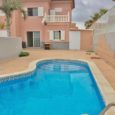3 Bedroom Linked Villa with Pool and Sea Views for Sale in El Medano, 284,000€